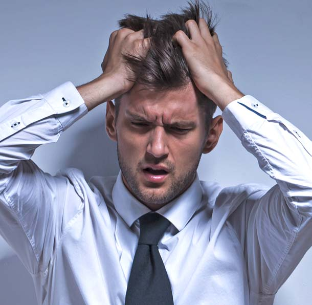 Mann in Stress
