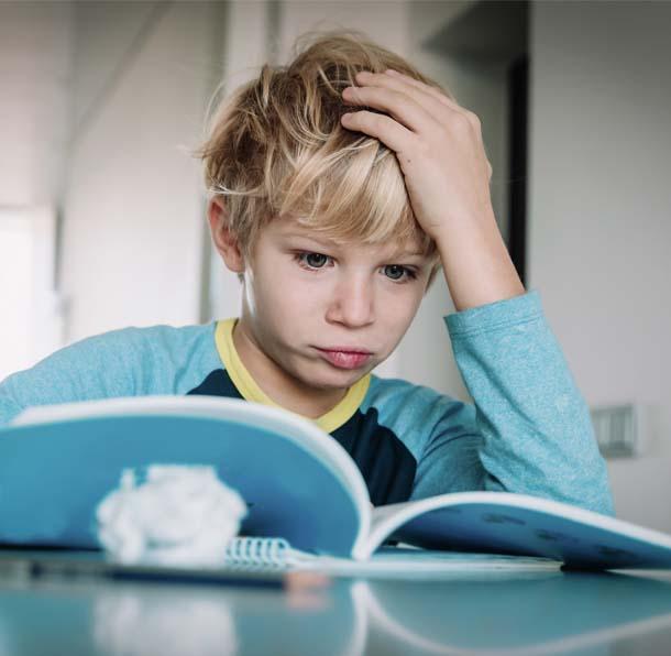 Frustriertes Kind