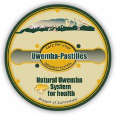 Uwemba-Pastilles® - Produkt-Etikett