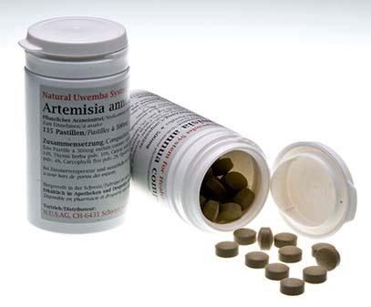 Artemisia annua comp. Pastillen von N.U.S. AG