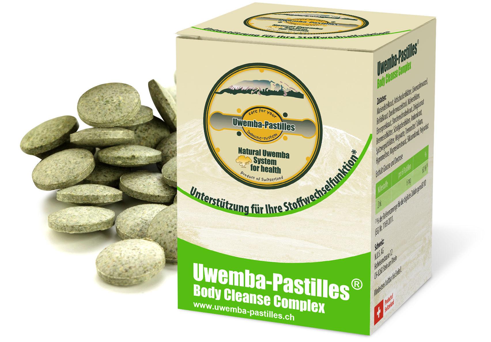 Uwemba-Pastilles® Body Cleanse Complex