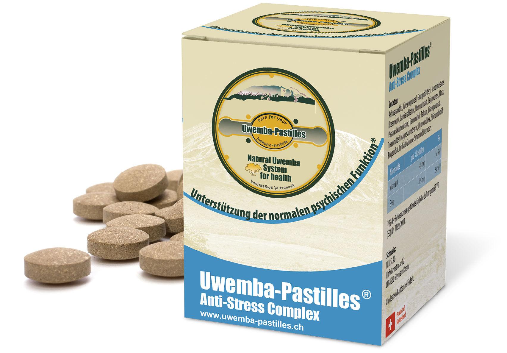 Uwemba-Pastilles® Anti-Stress Complex
